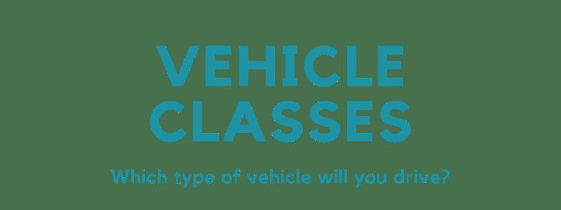 Vehicle Classes (1)