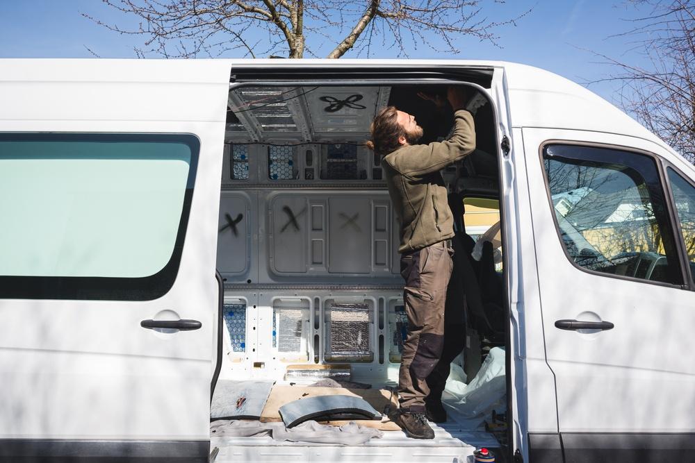 How To Install Plusnuts In A DIY Camper Van