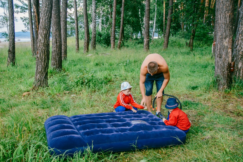Using Pumps To Inflate Air Mattresses