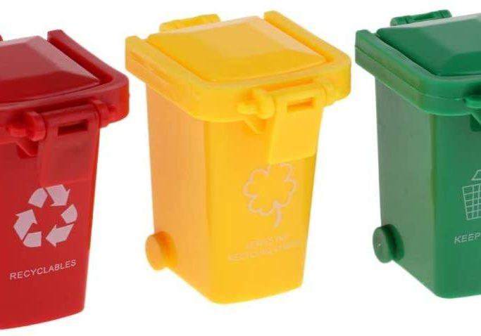 Toy garbage bins