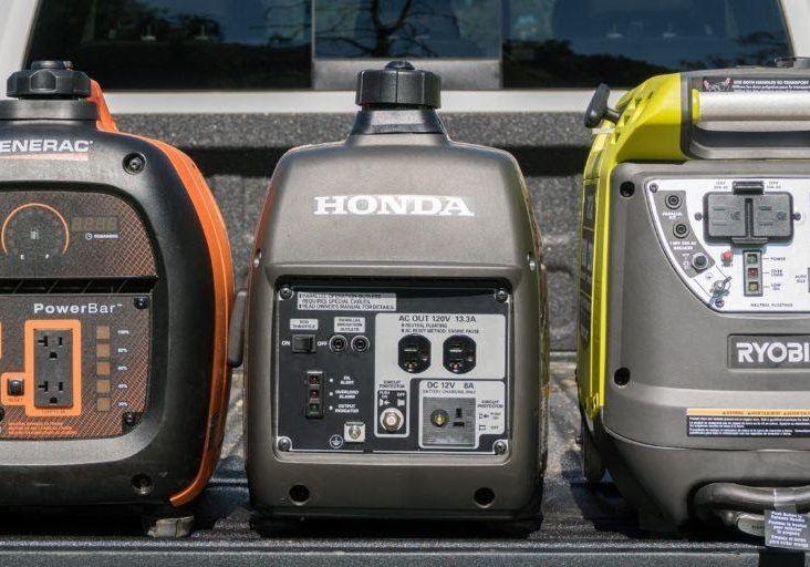 Vanlife portable generators